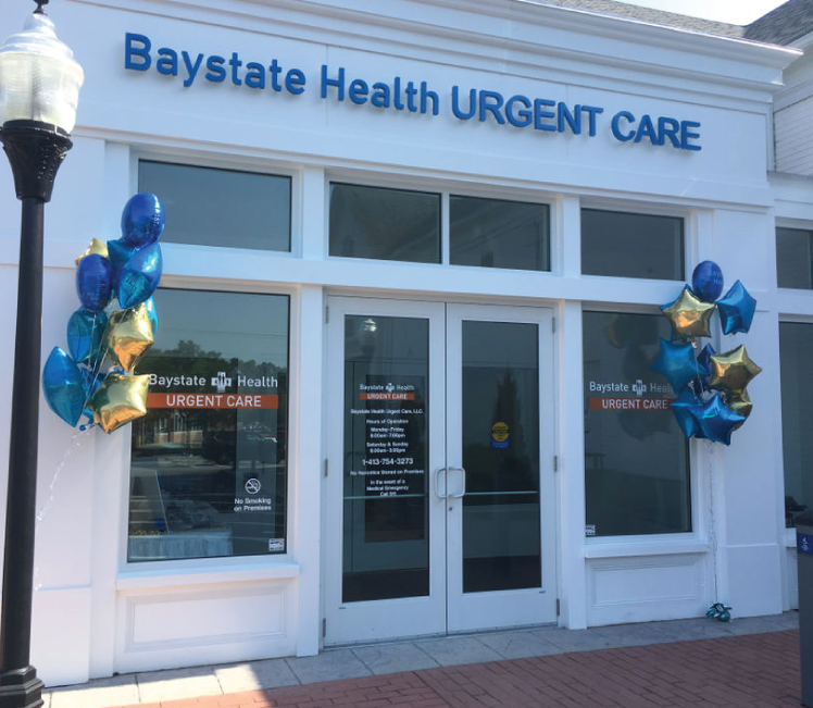The grand opening of Baystate Health Urgent Care in Longmeadow